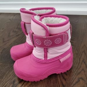 Pink Snow Boots Wheater Spirits Size 5